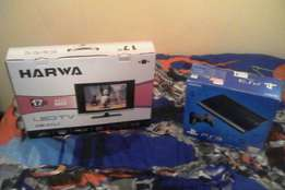 PS 3 and 17 inch TV