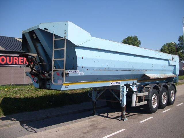 Robuste Kaiser STEEL TIPPER 26m3 SAF DISK - 2008