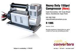 Heavy Duty 150psi Compressor (New)