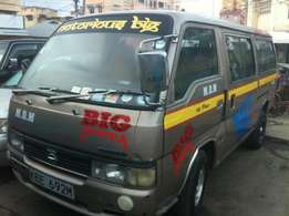 clean nissan 14seater matatu for sell