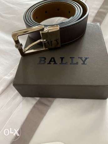new Bally belt