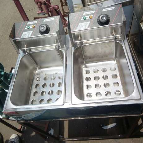 Deep frier fryer double Kamukunji - image 1