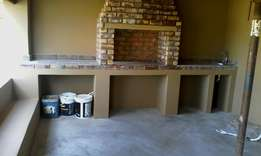 We Build Braais And Pizza Ovens .