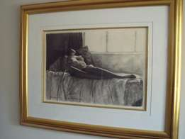 Charcoal etchings - Vernon Swart
