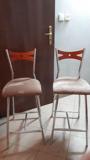 Hokery Krzesła Do Kuchni Słubice Olxpl
