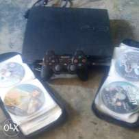 ps3 500gb wit 50 diff disc