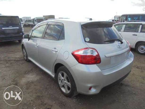 Toyota Auris Color Silver KCP number 2010 model Bamburi - image 2