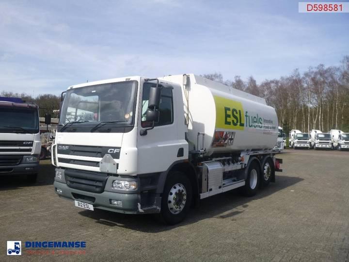 DAF CF 75.250 6x2 fuel tank 19 m3 / 4 comp RHD - 2003