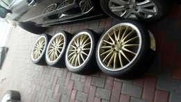 18 inch mags and tyres