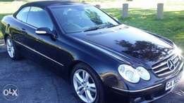 Mercedes Benz clk350 immaculate condition.