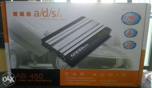ADS 1200w, 4/3/2 channel amplifier, Free delivery within Nairobi cbd. Nairobi CBD - image 2
