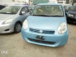 Toyota passo blue with alloy wheels HP accepted