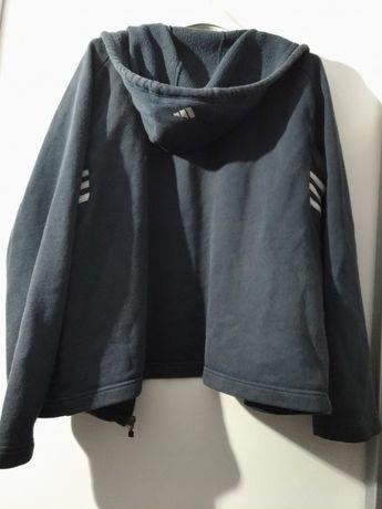 Bluza Adidas czarna z kapturem rozmiar L, uniwersalna