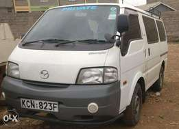 Mazda Bongo manual diesel. 4WD engageable
