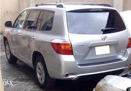 Neatly used Toyota Highlander 2008 For Sale