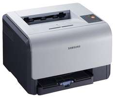 Samsung CLP-300 Printer with New Toners