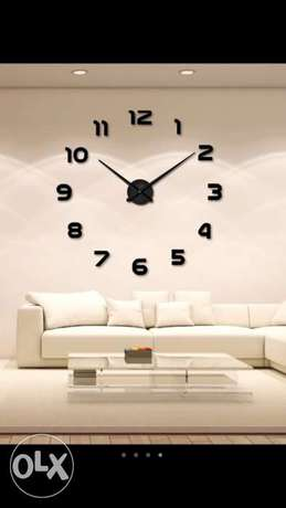 Modern 3D wall clocks