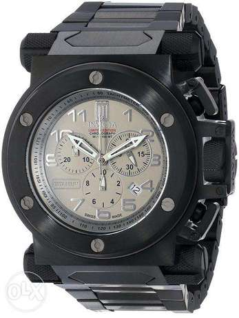 Invicta Men's 14513 Jason Taylor Analog Display Swiss Quartz Black Wat