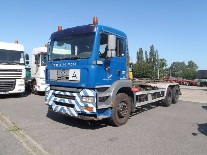 MAN TGA 360 6x2 Containersystem 10 wheels - 2004