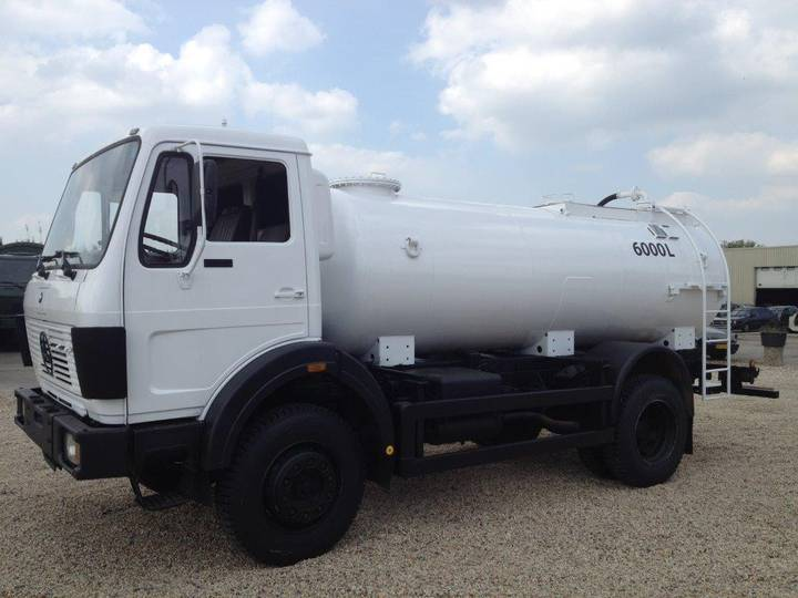 Mercedes-Benz 1017 4x4 fueltruck/watertruck top condition - 1987
