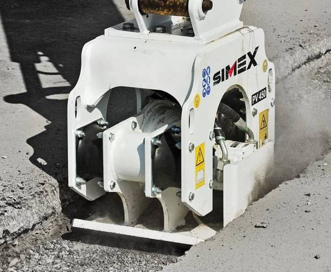 Simex Pv | Vibration Plate Compactors - 2018