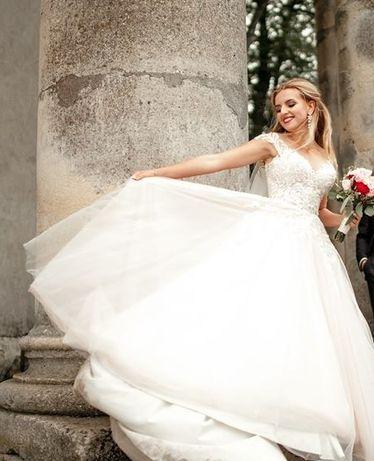 Весільне плаття  10 000 грн. - Весільні сукні Львів на Olx 2373a19af76b5