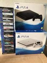 white and black bundle games brand new sony ps4 500gb well sealed in b