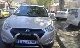 Hyundai ix35 2011 model jeep