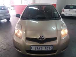 2011 Toyota Yaris T3 with 88000km in Excellent Condition