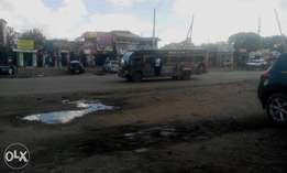 A commercial 1/8 acre touching the tarmac in Ongata Rongai.