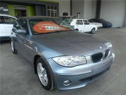 2007 BMW 1 Series 120i exclusive R79,995