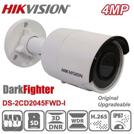 Original Hikvision DS-2CD2045FWD-I 4MP POE IR IP67 Powered by DarkFigh