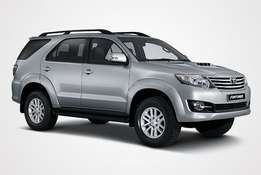 Wanted:Toyota Fortuner petrol or diesel