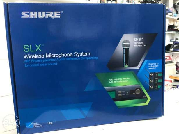 Sure Mic Wireless Set with Amplifier