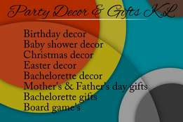 Party Decor & Gifts K.L