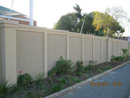 Precast extentions R350 per section 2 slabs up R430 3 Slabs up
