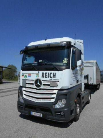 Mercedes-Benz Actros 1845LS Euro6 Stream Vollspoiler TOP - 2016