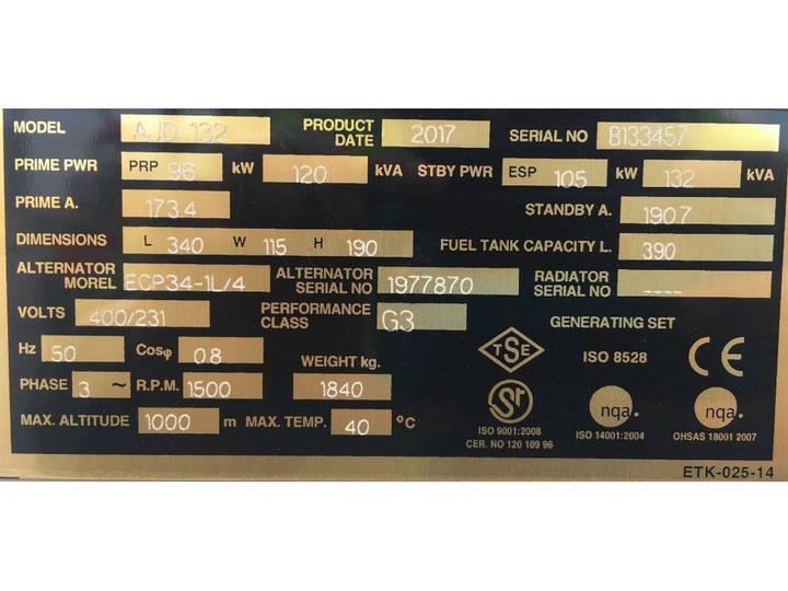John Deere 6068TF220 - 132 kVA - DPX-15605-S - 2019 - image 7