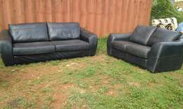 Imported 1st class leather 5 seater