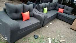 L seat plus 2 Seater sofas
