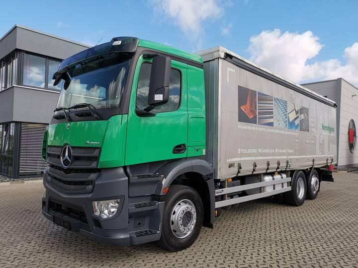 Mercedes-Benz Antos 2540 / Automatic / Liftachse / Euro 6 - 2014