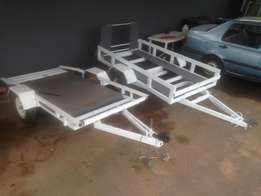 Golf cart trailer,