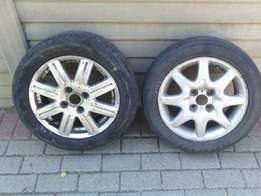 2x mags and tyres