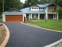 Fine smooth tarred surfaces/driveways, roads & parking areas