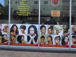 Magnificent Hair Beauty studio and fashion Home is for Sale