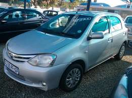 2013 Toyota Etios 1.5 Xs Sprinter in good condition