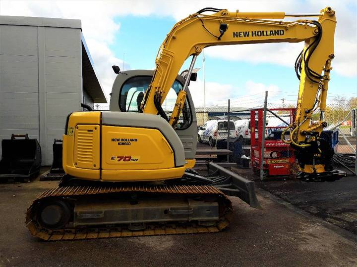 New Holland Kobelco E70sr-1 - 2007
