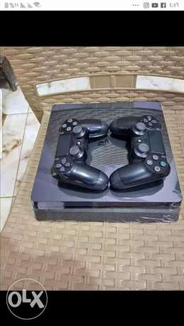 Ps4 slim Hd 500 with pes2019