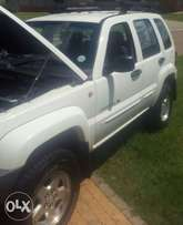 Jeep Cherokee with extra accessories and gear for sale