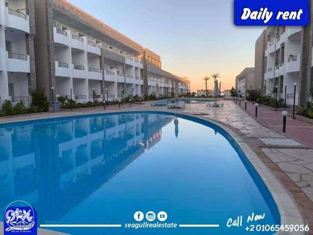 studios with private beach daily rent hurghada